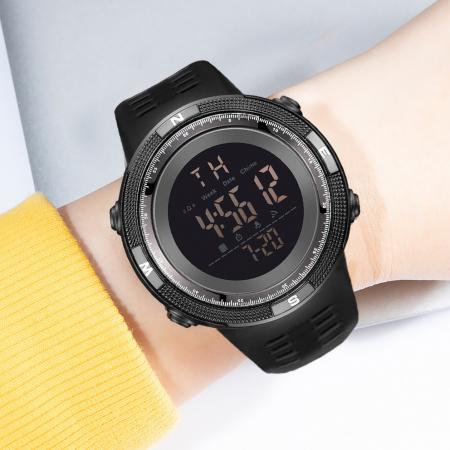 Ceas sport cu alarma SK75, negru [1]