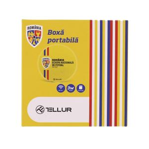 Boxa bluetooth FRF Tellur, 3 W, Galben [1]