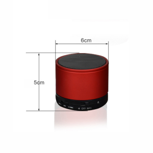 Boxa portabila metalica Optimus AT X44, rezistenta la apa, 3w, bluetooth, radio FM, handsfree, card micro-sd, red [2]