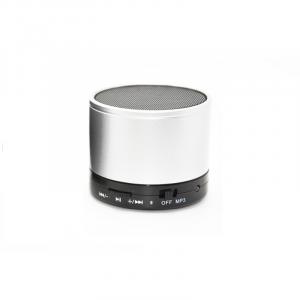 Boxa portabila metalica Optimus AT X44, rezistenta la apa, 3w, bluetooth, radio FM, handsfree, card micro-sd, white [1]