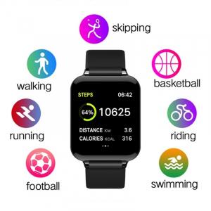 Bratara fitness Optimus AT 75, multiple functii, smartwatch, ecran IPS color 1,3 inch, IP67, black [4]