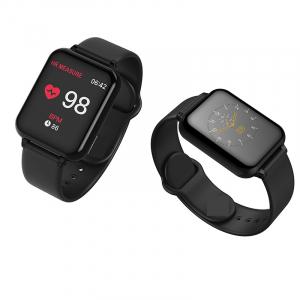 Bratara fitness Optimus AT 75, multiple functii, smartwatch, ecran IPS color 1,3 inch, IP67, black [3]