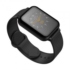 Bratara fitness Optimus AT 75, multiple functii, smartwatch, ecran IPS color 1,3 inch, IP67, black [1]