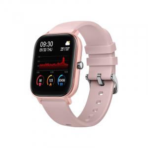 Ceas inteligent (smartwatch) Optimus AT P8 ecran cu touch 1.4 inch color HD, smartwatch, moduri sport, pedometru, puls, notificari, pink [0]