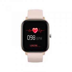 Ceas inteligent (smartwatch) Optimus AT P8 ecran cu touch 1.4 inch color HD, smartwatch, moduri sport, pedometru, puls, notificari, portocaliu [1]