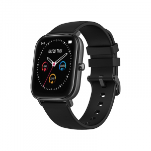 Ceas inteligent (smartwatch) Optimus AT P8 ecran cu touch 1.4 inch color HD, smartwatch, moduri sport, pedometru, puls, notificari, black [0]