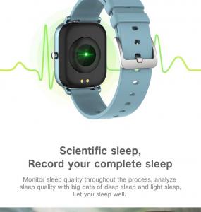 Ceas inteligent (smartwatch)  Optimus AT P8 ecran cu touch 1.4 inch color HD, smartwatch, moduri sport, pedometru, puls, notificari, grey [2]