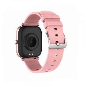 Ceas inteligent (smartwatch) Optimus AT P8 ecran cu touch 1.4 inch color HD, smartwatch, moduri sport, pedometru, puls, notificari, pink [1]