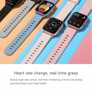 Ceas inteligent (smartwatch) Optimus AT P8 ecran cu touch 1.4 inch color HD, smartwatch, moduri sport, pedometru, puls, notificari, pink [2]
