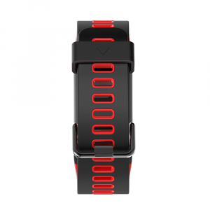 Bratara fitness sport ultra usoara Optimus AT 44 IP68, puls, tensiune, pedometru, notificari, calorii, distanta, moduri sport, black/red [4]