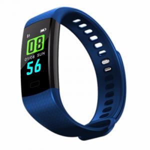 Bratara fitness ultra usoara Optimus AT 5, IP67, puls, tensiune, pedometru, notificari, calorii, distanta, dark blue [2]