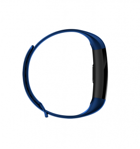 Bratara fitness ultra usoara Optimus AT 5, IP67, puls, tensiune, pedometru, notificari, calorii, distanta, dark blue [4]