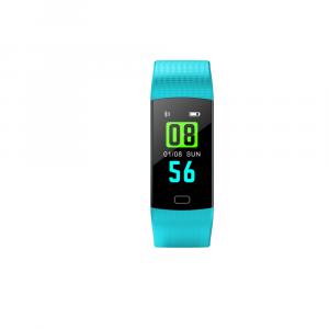 Bratara fitness ultra usoara Optimus AT 5, IP67, puls, tensiune, pedometru, notificari, calorii, distanta, light blue [1]