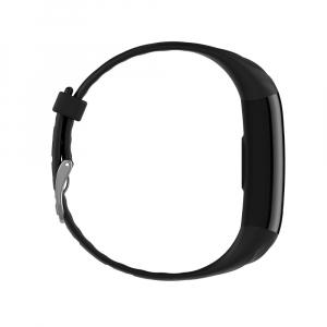 Bratara fitness ultra usoara Optimus AT 55, IP68, puls, tensiune, pedometru, notificari, calorii, distanta, black [4]