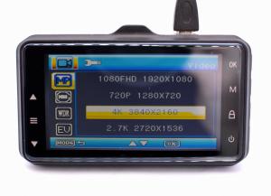 Camera auto Optimus AT G1 carcasa metalica fullHD 1080 30 fps, 140 grade, 3.0 inch, mod parcare, cablu 3,5 metri, black [3]