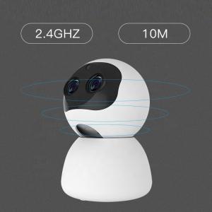Camera supraveghere interior IP WIFI cu 2 lentile Optimus AT 3612, full HD, 3.6mm 8mm, autourmarire, comunicare bidirecionala [3]