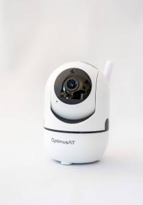 Camera supraveghere interior IP WIFI Optimus AT 288-2 fullHD 1920*1080P 2 mp comunicare bidirectionala, functie de auto urmarire subiect, night vision, aplicatie telefon [1]