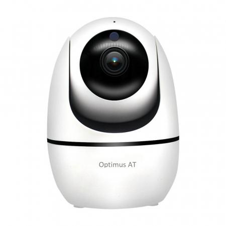 Camera supraveghere IP WIFI Optimus AT 688-3 HD 1280*720P  3.0MP, cloud, comunicare bidirectionala, functie de autourmarire subiect, night vision, aplicatie telefon [1]