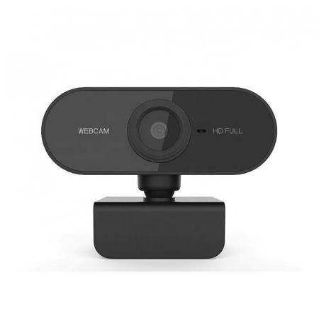 Camera WEB cu microfon Optimus AT C1, rezolutie full-HD 1080p, 2mpx, prinderi multiple, negru [2]