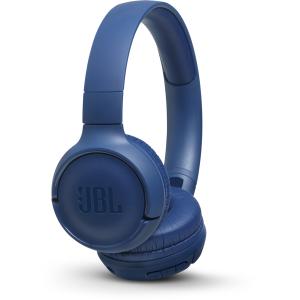 Casti audio On-ear JBL Tune 500, Wireless, Bluetooth, Pure Bass Sound, Hands-free Call, 16H, albastru [1]