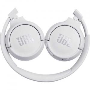 Casti audio On-ear JBL Tune 500, Wireless, Bluetooth, Pure Bass Sound, Hands-free Call, 16H, alb [3]