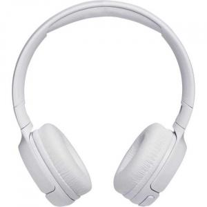 Casti audio On-ear JBL Tune 500, Wireless, Bluetooth, Pure Bass Sound, Hands-free Call, 16H, alb [0]