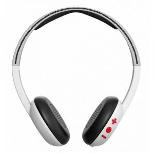 Casti Audio On-Ear Mic Skullcandy Bt Wireless White Gray Red [1]