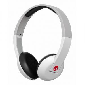 Casti Audio On-Ear Mic Skullcandy Bt Wireless White Gray Red [0]