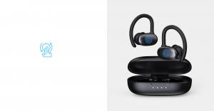 Casti bluetooth 5.0 Hi-Fi TWS MiFa X12 fara fir (wireless), control audio, handsfree, rezistente la apa IPX7, black [7]