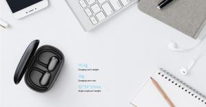 Casti bluetooth 5.0 Hi-Fi TWS MiFa X12 fara fir (wireless), control audio, handsfree, rezistente la apa IPX7, black [5]