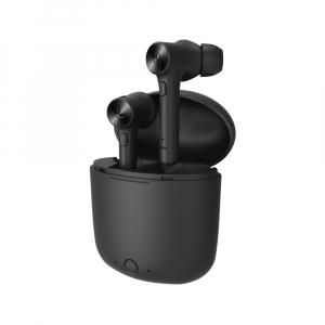Casti bluetooth Optimus AT Hurricane Hi fara fir (wireless), control audio, handsfree, rezistente la apa IPX3, black [1]