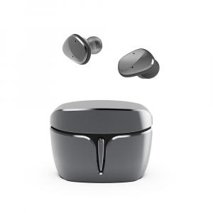 Casti bluetooth Premium TWS 703 fara fir (wireless), control audio, handsfree, rezistente la apa IPX5, black [0]