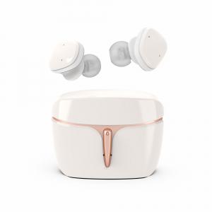 Casti bluetooth Premium TWS 703 fara fir (wireless), control audio, handsfree, rezistente la apa IPX5, pink [1]