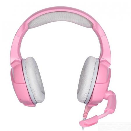 Casti Gaming DC-Onikuma K5 Profesionale, Surround Sound 7.1, Microfon Noise Cancelling, Zero Ear Pressure, Multi Platform - Roz Pink [1]