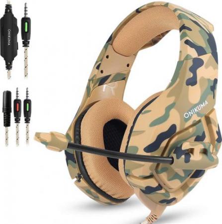 Casti Gaming DC-Onikuma K1, Microfon Noise Cancelling, Zero Ear Pressure, Multi Platform [4]
