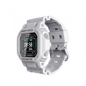 Ceas inteligent (smartwatch) cu design retro Optimus AT I2 ecran 0.96 inch color puls, moduri sport, notificari, grey [0]