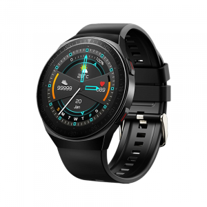 Ceas inteligent (smartwatch) MT-3 cu difuzor si microfon incorporat, ecran cu touch 1.28 inch color, moduri sport, pedometru, puls, notificari, black [0]
