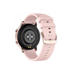 Ceas inteligent (smartwatch) Optimus AT DT-89 ecran cu touch 1.2 inch color HD, moduri sport, pedometru, puls, notificari, roz [1]