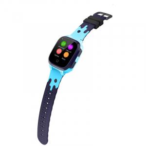Ceas inteligent (smartwatch) pentru copii Optimus AT 8T cu localizare prin GPS, ecran 1.3 inch, apelare video, camera, buton SOS, albastru [2]
