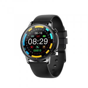 Ceas inteligent (smartwatch) Optimus AT V23 ecran cu touch 1.3 inch color HD, moduri sport, pedometru, puls, notificari, black [0]