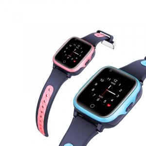Ceas inteligent (smartwatch) pentru copii Optimus AT FG-07 cu localizare prin GPS, ecran 1.4 inch, apelare video, camera, buton SOS, perimetru pink [1]