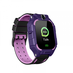 Ceas inteligent (smartwatch) pentru copii Optimus AT GK-01, 3G, GPS, ecran 1.3 inch, apelare audio, camera, buton SOS, perimetru, mov