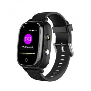 Ceas inteligent pentru adulti 4G cu localizare prin GPS, apelare audio, video, termometru, puls, tensiune, camera, buton SOS, H10 negru [0]