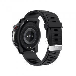 Ceas inteligent (smartwatch) sport Optimus AT L15 ecran cu touch 1.3 inch color HD, Sp02, puls, 10 moduri sport, notificari, black [1]