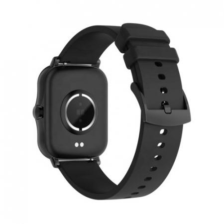 Ceas inteligent (smartwatch) Y20, IP67, ecran cu touch 1.7 inch color, moduri sport, pedometru, puls, notificari, negru [1]