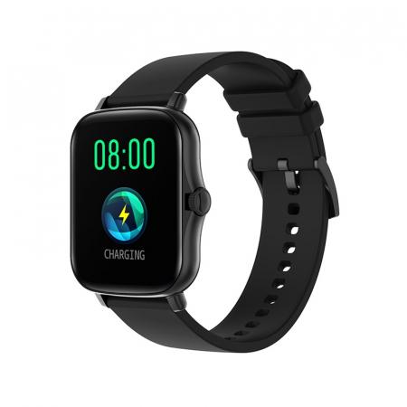 Ceas inteligent (smartwatch) Y20, IP67, ecran cu touch 1.7 inch color, moduri sport, pedometru, puls, notificari, negru [0]
