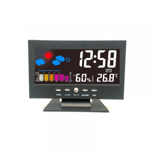Ceas multifunctional Optimus AT 2618R termometru, higrometru, alarma [0]