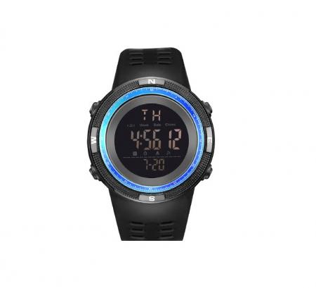 Ceas sport cu alarma SK75, albastru