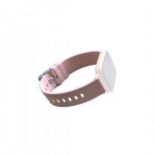 Curea de schimb din silicion pentru smart watch P8, bej