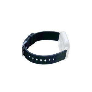 Curea de schimb din silicion pentru smart watch P8, negru [0]